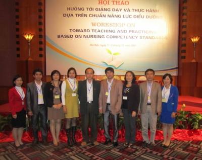 """Kết quả Hội thảo """"Hướng tới đào tạo & thực hành dựa trên Năng lực"""" do Chi Hội Giáo viên Điều dưỡng Việt Nam tổ chức tại Hà Nội, tháng 12 năm 2011"""